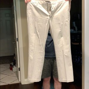 Banana Republic Cotton Khaki Pants